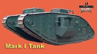 Wot BLITZ. Мега танк Mk1* Heavy Tank