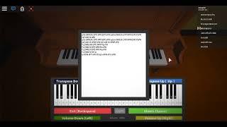 Boulevard of Broken Dreams Roblox Piano / Virtual Piano [NOTES IN DESC]