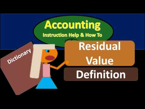 Residual Value Definition - What Is Residual Value?