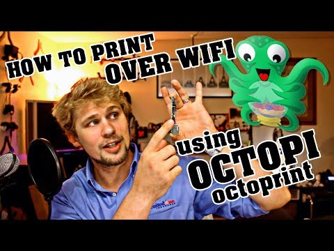 How To Make ANY 3D PRINTER WIRELESS Using OctoPi | Step By Step GUIDE!