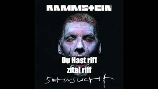 Rammstein - Du hast - intro + riff loop