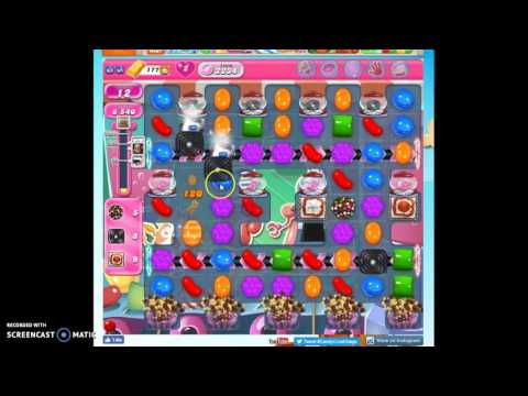 Candy Crush Level 2234 help w/audio tips, hints, tricks