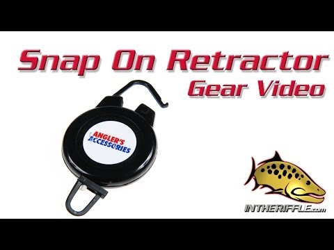Snap On Fly Fishing Tool Retractor