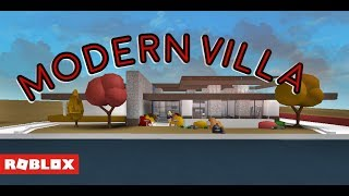 Roblox Bloxburg - Modern Autumnal Villa (80K)