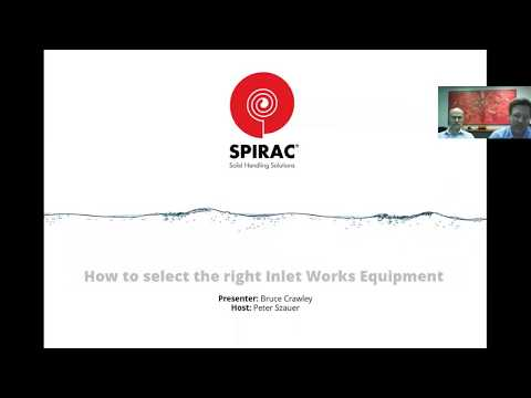 "Webinar ""Tips and strategies on how to select the right Inlet Works equipment"""