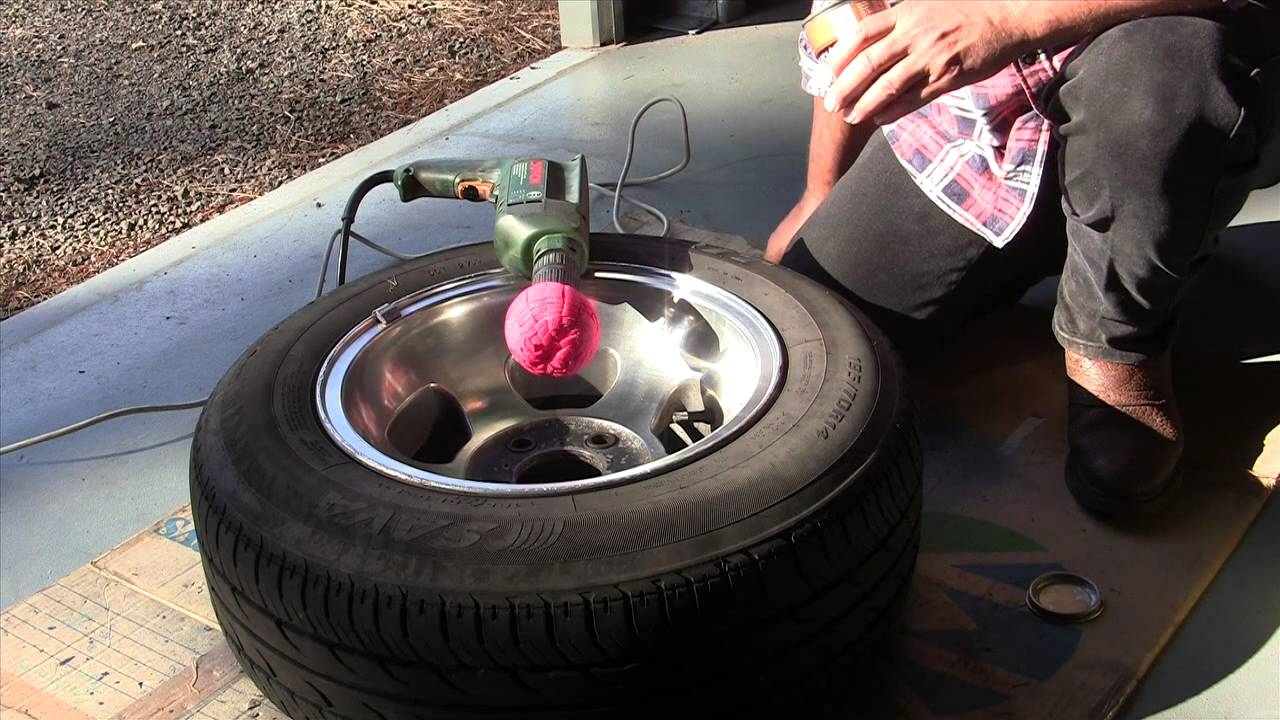 How To Polish Aluminum Wheels To A Mirror Finish Youtube