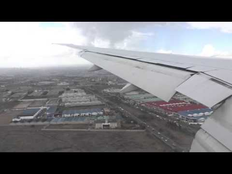 Jambo, Kenya! Emirates B777-300ER Arrival Into Nairobi (Full Approach, Landing, Taxi To Gate)