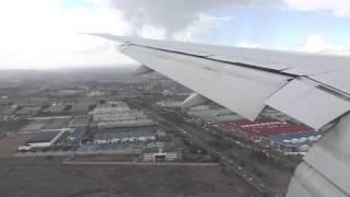 Jambo, Kenya! Emirates B777-300ER Arrival Into Nairobi (Full Approach, Landing, Taxi To Gate)