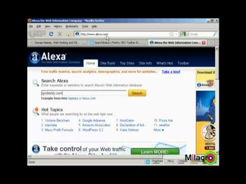 How To Determine Your Websites Alexa Ranking | Internet Marketing Tutorial Videos