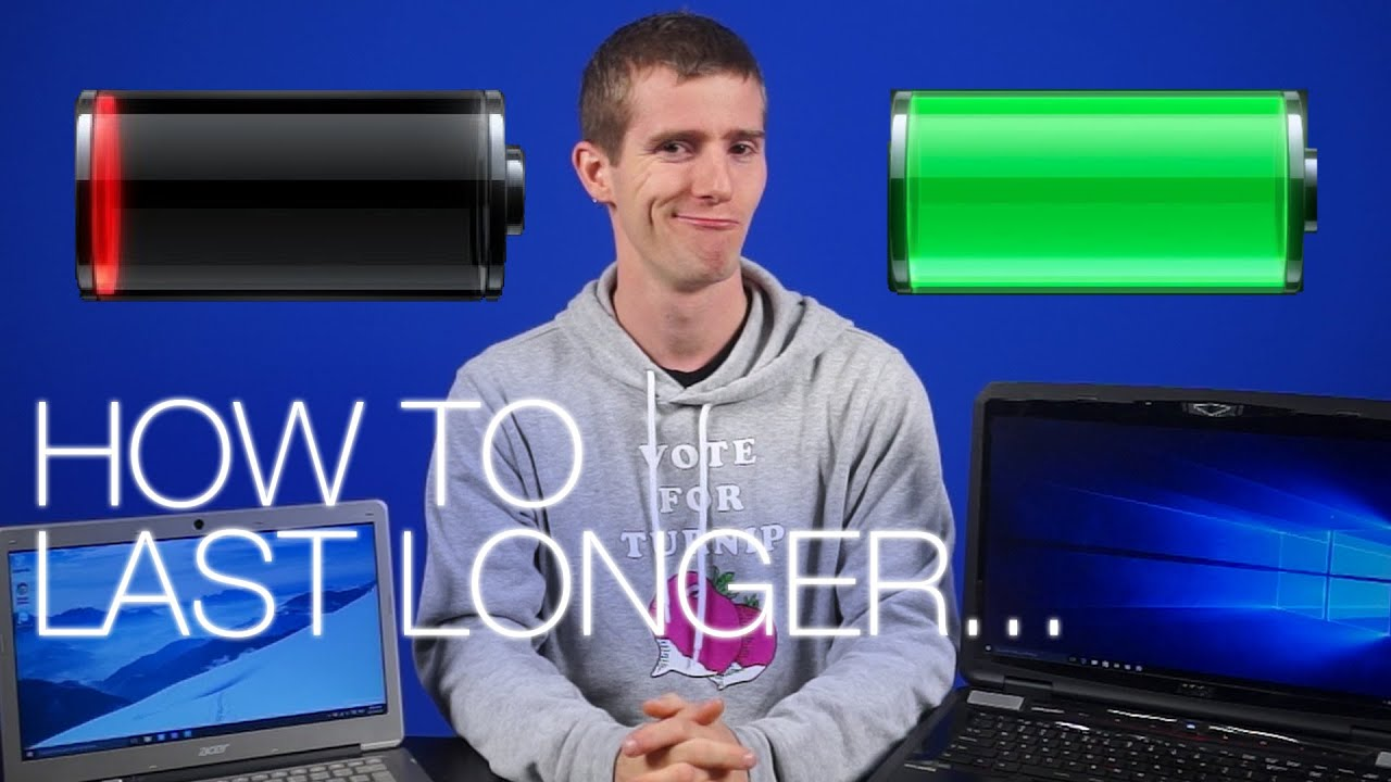 How To Extend Your Laptop Battery Life Youtube