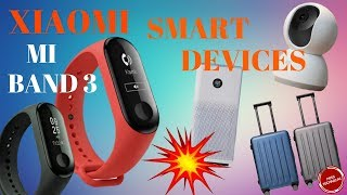 XIAOMI MI BAND 3| AIR PURIFIER 2S| HOME SECURITY CAMERA 360°|| SPECIFICATIONS, PRICE & MANY MORE...