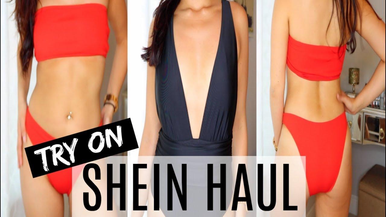 582f2934c1698 SHEIN CHEAP BIKINI TRY ON HAUL + Giveaway - YouTube