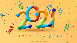 Create Happy New Year 2020 Wallpaper Card Poster Design in Photoshop Photoshop Tutorial
