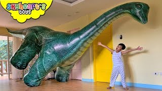 "Giant Long Neck DINOSAUR!! ""Skyheart Toys"" Brachiosaurus dino kids jurassic world"