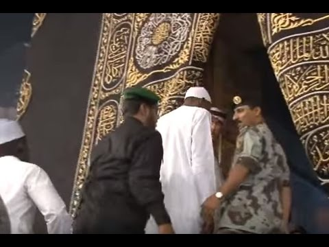 world leaders at mecca madina