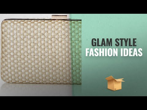 Shop Your Style: Glam By Jessica McClintock: Jessica McClintock Noelle Woven Satin Glitter Evening