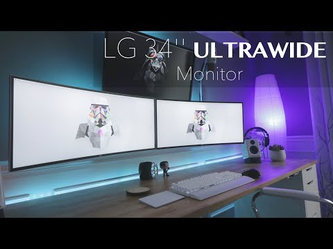 "34 inches of Curved Awesome (Best Ultrawide Monitor) - LG 34"" Curved ULTRAWIDE Monitor Review"