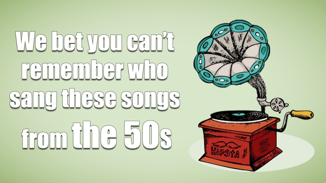Who sang these songs? - Music quiz (1950s music)
