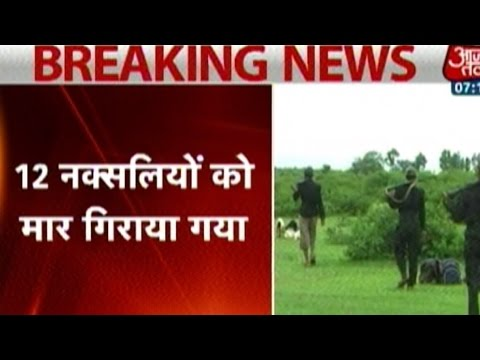 12 Naxals Killed In Jharkhand