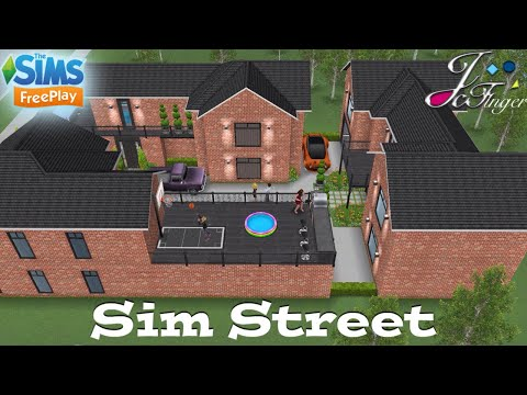 Sims FreePlay 🏘🏡🏡 | SIM STREET | By Joy