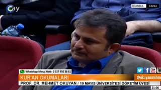 Hani benim böyle rivayetlere karşı  çok mesafeli olduğumu söylüyorlarya- Prof.Dr. Mehmet Okuyan