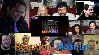 Suicide Squad Weird Trailer by Aldo Jones REACTION MASHUP
