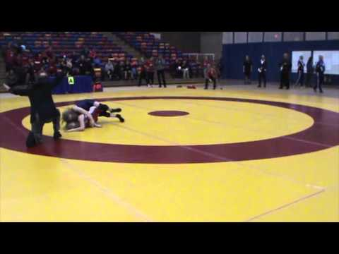 2013 Nordhagen Classic: 48 kg Augusta Eve (CAN) vs. Annie Monteith (CAN)