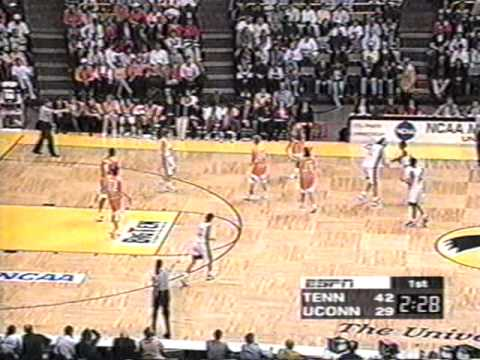 1997 Elite 8 Tennessee vs  Connecticut