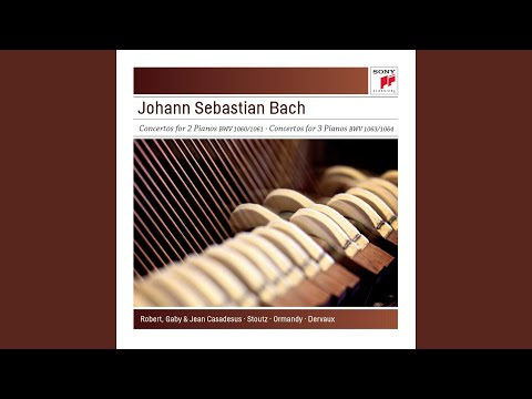 Concerto for 3 Keyboards in D Minor, BWV 1063: III. Allegro mp3