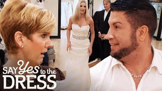 Wrestler Groom Hates Brides Blingy Wedding Dress Vision | Say Yes To The Dress Atlanta