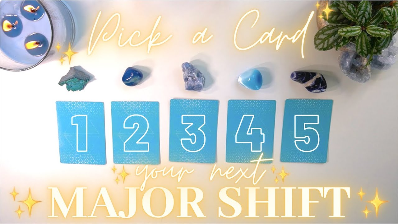 ✨💎MAJOR SHIFT Coming in Your Life! 💠 Timeless Pick-a-Card✨ 5/5/5 Collab with Luna Tarot!!💙✨