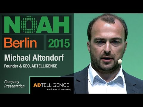 Michael Altendorf, ADTELLIGENCE - NOAH15 Berlin