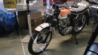 classicbikeshows: Newark 2012, Nigel Clark pt2 - The Club Stands - Main Hall