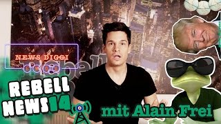 Rebell News #14 mit Horrorclown Alain Frei