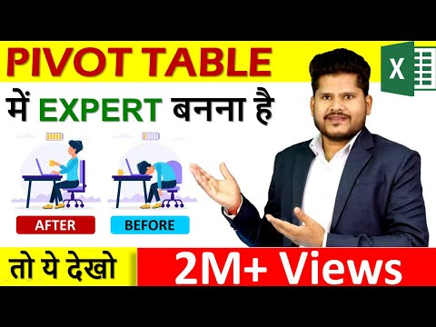 pivot table for