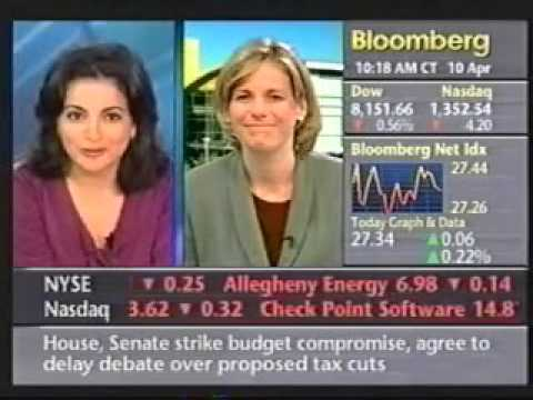 Yahoo! Earnings Interview - Bloomberg Q1'03