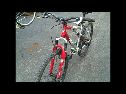 K2 Attack 3 0 Full Suspension Mountain Bicycle Youtube