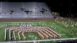 """University of texas longhorn marching band """"the show band of the southwest"""""""