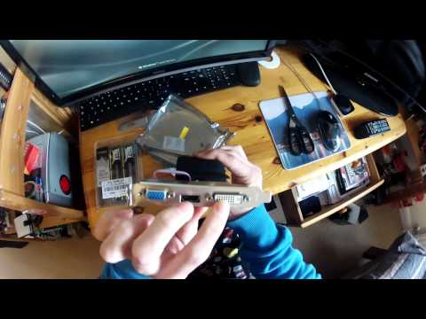 GeForce 210 1024MB Graphics Card Unboxing + Installation.