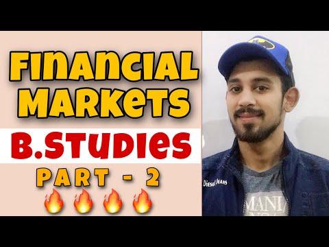 Financial Markets | Business studies | Part 2 | class 12