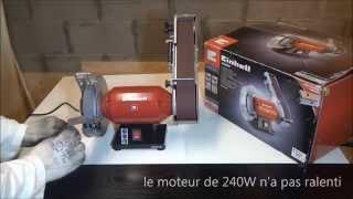 Einhell TH-US 240 - Touret à meuler & Ponceuse stationnaire(Montage et démo de ce touret Einhell TH-US 240., 2015-05-21T20:04:59.000Z)