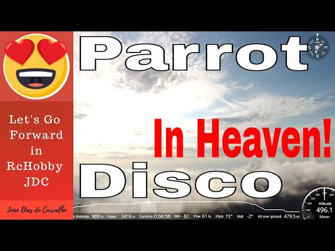 Parrot Disco - Sunset between the Clouds, Luanda, Angola
