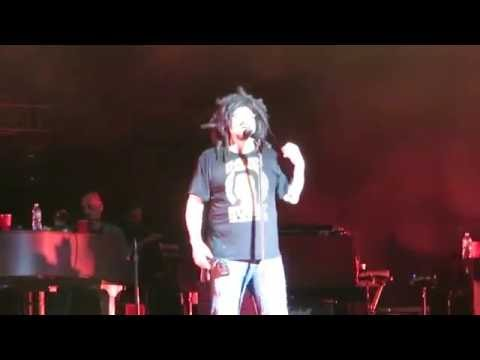 "Counting Crows. ""Omaha"" Coney Island, NYC 08.16.16"