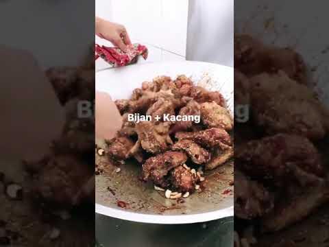 Hanis Zalikha Ayam Kicap Ditaburi Bijan