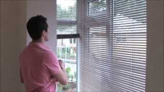 Fitting Venetian Blinds In A Bay Window - Youtube