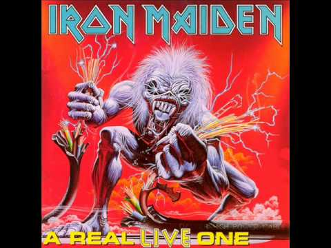 Iron Maiden - Afraid To Shoot Strangers ( A Real Live One)