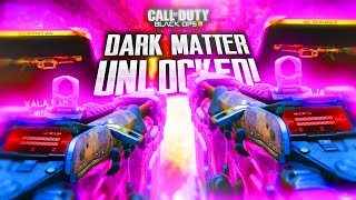 "DARK MATTER ""R70 AJAX"" LIVE REACTION! UNLOCKING ""DARK MATTER"" IN BLACK OPS 3! (BO3)"