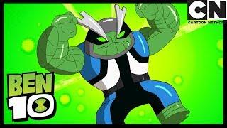 Transformación de Slapback - Nuevo Alien | Omnicóptero | Ben 10 en Español Latino | Cartoon Network