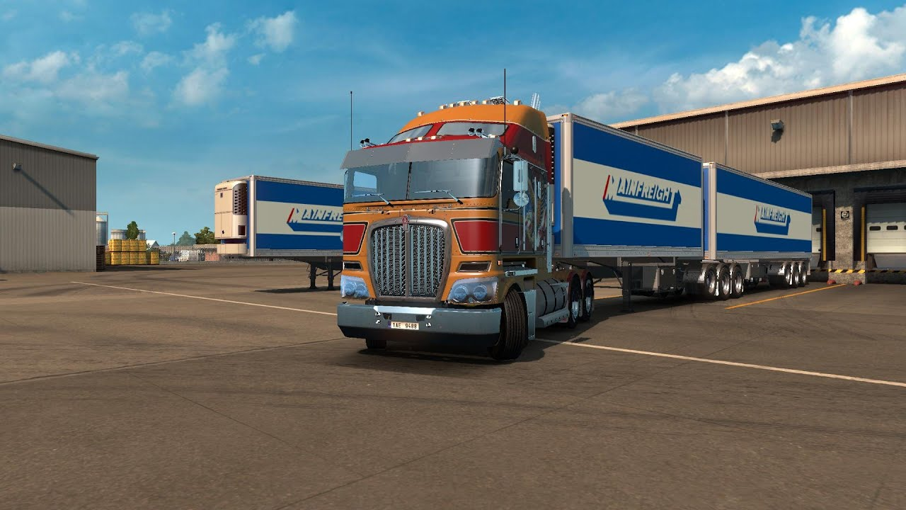 ats how to drive a double trailer