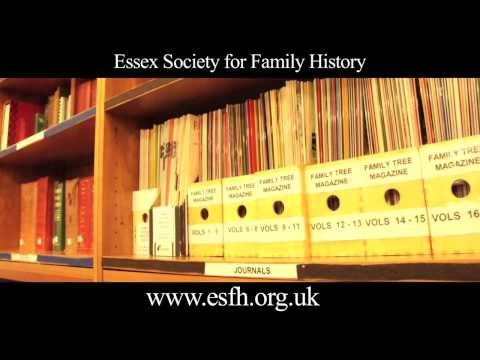 Essex Society for Family History - In Action